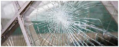 Melton Mowbray Smashed Glass